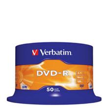 Verbatim 16x DVD-R (paquet de 50) 32,00 €
